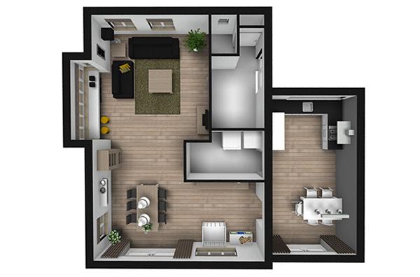 bovenaanzicht-interieur-ontwerp-woonkamer