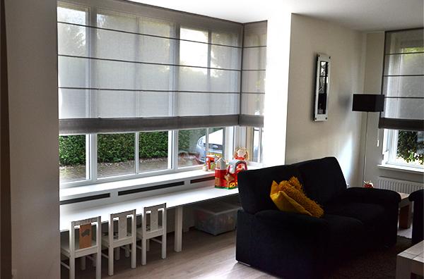 Bureau In Woonkamer Integreren. Werkplek In Slaapkamer In Luxe Van ...